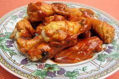 Chicken Wings With BBQ Sauce for the Crock Pot!. Photo by lazyme