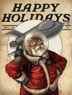 Resultado de imagem para merry christmas science fiction