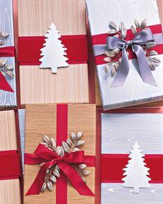 96 Best Gift Wrap Alternatives images | Christmas Decor, Christmas ...