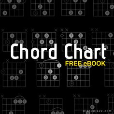 Learn jazz guitar chords with this free, downloadable ebook. This chord dictionary contains the most important shapes and grips to get you started playing jazz guitar.