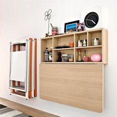 Mesa Dobrável para Cozinha por Calligaris http://maisarquitetura.com.br/mesa-dobravel-para-cozinha-por-calligaris