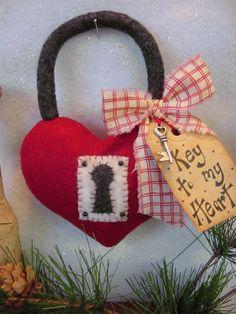 PatternMart.com ::. PatternMart: Key to my Heart ITC183