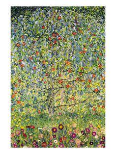 Pommier Print van Gustav Klimt - bij AllPosters.be