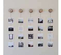 A well-dressed wall | Artifact Uprising Square Prints  DIY wall by Meagan Hildebrandt  more on the square prints here: http://www.artifactuprising.com/site/squareprintset