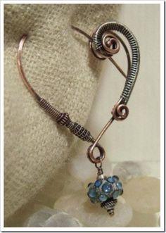 de Cor's Handmade Jewelry: Wire Jewelry Tutorial: Wire Wrapped Heart Fibula by JewlieBeads