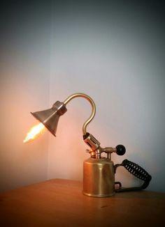 AMC77 Blow torch lamp