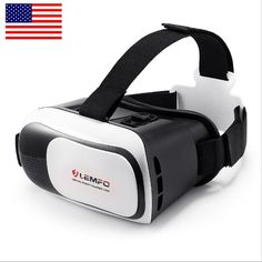 bd0cccc24007 LEMFO VR Case Virtual Reality Headset Glasses Focal and Pupil Distance  Adjustable Viewing Video Movie Game Fit for Mobile Phones