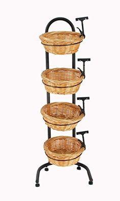 Farmers Market Breads Bakery Container Display Signs Grocery Online Marketing Wicker Baskets Floor E Billboard Inbound
