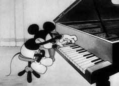 Moving a piano requires experience, skill, strength & care. They will treat your piano like one of theirs. The care of your instrument is as important to them as it is to you. Ark Moving Pianos Locally and Nationwide with any kind of grade of difficulty. Vintage Cartoon, Vintage Disney, Piano Lessons, Music Lessons, Music Jokes, Animated Gifs, Photo Vintage, Piano Player, Piano Man