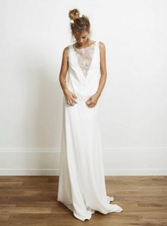 Oh this white dress is so natural but oh so fantastic!
