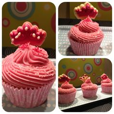 My little pink cupcakes for princess
