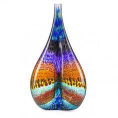 Stephen Rolfe Powell Massive Murrine Glass Vessel