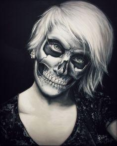 En este tutorial te mostramos cómo hacer un increíble Maquillaje halloween esqueleto paso a paso