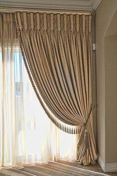 Curtains are dressy window coverings that can alter the appearance and do wonders for rooms in a home. It can make a room look more spacious or compac. Classic Curtains, Elegant Curtains, Cheap Curtains, Beautiful Curtains, Modern Curtains, Modern Blinds, Luxury Curtains, Home Curtains, Curtains With Blinds