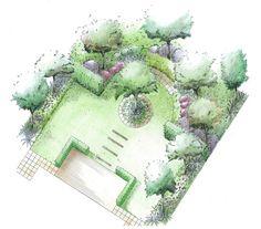 Garden Design Layout Plans garden designs and layouts | stage 4 - detailed garden layout plan