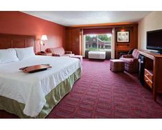 Hampton Inn Wausau Hotel, WI - King Study with Sofabed