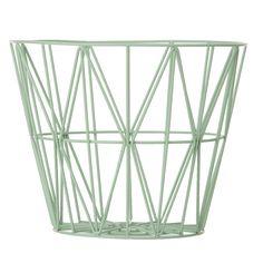 Wire basket, mint