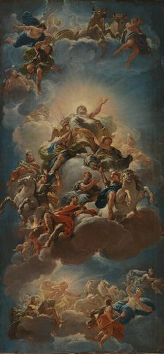 Luca Giordano St Paul the Hermit Giclee Art Paper Print Poster Reproduction