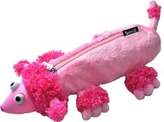 X'mas Special Spencil Funky fluffy Pencil Case with eyes pop out 20cm x 6cm Pink | eBay