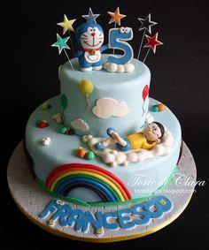 doraemon cake - Cerca con Google