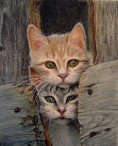 figurative - Homeless kittens by irishishka