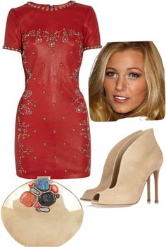 """""""Blake Lively"""" by shoppergurl09 ❤ liked on Polyvore"""