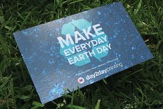 Free Get a set of 4 Beautifully Designed Earth Day Cards from Day2DayPrinting.com, that are ready to be grown. Plant them or share themwith friends and family