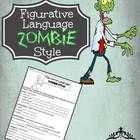 $ Your students will LOVE this zombie-themed figurative language worksheet that outlines descriptive writing over a high-interest topic using the fol...