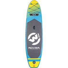 With a small storage footprint, easy portability, and overall durability, this WOW Rover Flatwater Inflatable Stand Up Paddle Board & Paddle Set is your best bet out on the water doing what you love most. Sup Stand Up Paddle, Sup Paddle, Inflatable Paddle Board, Inflatable Sup, Snorkel Set, Sup Boards, Thing 1, Cross Country Skiing