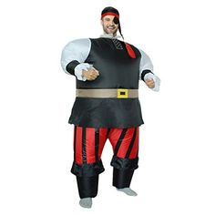 Adults Funny One-Eye Adults Funny One-Eyed Pirates Inflatable Costume Sumo Wrestling Costume for Halloween Carnival Cosplay Tag someone who should wear this! Pirate Halloween Costumes, Up Costumes, Halloween Carnival, Anime Costumes, Adult Halloween, Funny Halloween Costumes, Halloween Cosplay, Adult Costumes, Cosplay Costumes
