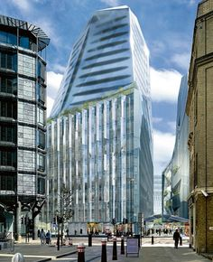 The Towers of London,Foster + Partners and Jean Nouvel's Walbrook Square