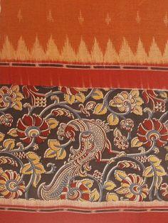Printed Kalamkari