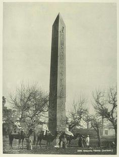 The Al-Masalla Obelisk, Heliopolos in Cairo (year unknown).