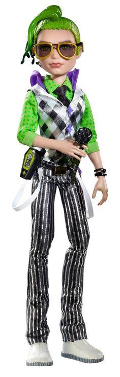 Amazon.com: Monster High Dawn Of The Dance Deuce Gorgon Doll: Toys & Games