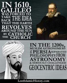 Historic european and Islamic Astronomy