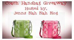 Enter To #Win The Double Coach Handbag #Giveway! 2 Winners - Jenn's Blah Blah Blog - Travel, Recipes, Reviews, Giveaways