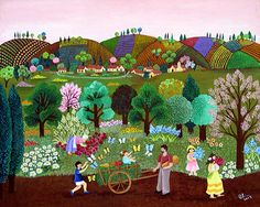 Summer Harvest - by Maria Terzi