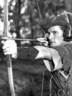 "Errol Flynn in ""The Adventures of Robin Hood"", 1938"