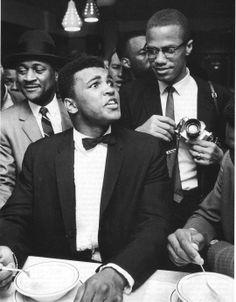 Muhammad Ali & Malcolm X 1965
