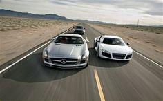 2010 Audi R8 2011 Mercedes Benz Sls Amg 2010 Porsche 911 Head To Head, MotorTrend