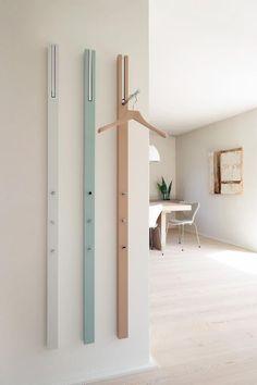 Los percheros minimalístas están de moda