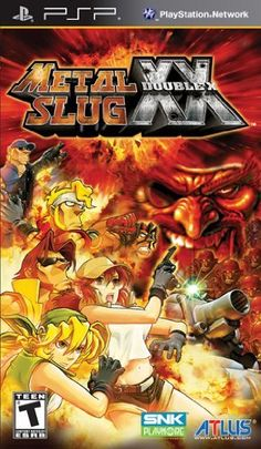 nice Metal Slug XX - Sony PSP Metal Slug XX for PSP system is the new addition to the famed Metal Slug series that captures all the glory of the arcade experience and more. Classic... http://gameclone.com.au/games/metal-slug-xx-sony-psp/ Check more at http://gameclone.com.au/games/metal-slug-xx-sony-psp/