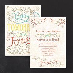 Vintage Promises Wedding Invitation 40% OFF  |  http://mediaplus.carlsoncraft.com/Wedding/Wedding-Invitations/3254-TWS20913-Vintage-Promises--Invitation.pro