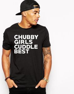 Chubby Girls Cuddle Best - The Captain - Tumblr Shirt - Facebook Shirt - Instagram Shirt - BBW - Cuddle Shirt - Chubby Tshirt  by Umbuh