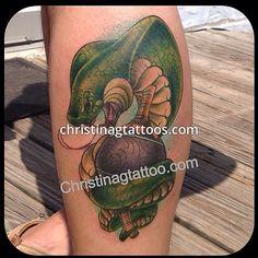 Snake Charmer Tattoo