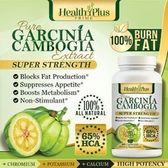 Garcinia Cambogia Fruit Extract with Pure 65% HCA - 60 Ultra Premium Appetite Suppressant / Weight Loss Pills - Buy The Best From Health Plus Prime! 100% Money Back Guarantee! Health Plus Prime,http://www.amazon.com/dp/B00G8L58CA/ref=cm_sw_r_pi_dp_SCKYsb0MSXE4855K