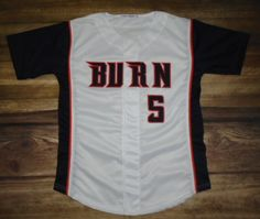 Have a look at this custom jersey designed by Burn Baseball and created at MVP Sports in Spanish Fork, UT! http://www.garbathletics.com/blog/burn-baseball-custom-jersey/ Create your own custom uniforms at www.garbathletics.com!