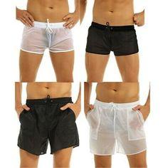 Mens Quick Dry Swimtrunks Fashion Plaid Beach Shorts Summer Surfing Swimming Short Pants Zulmuliu