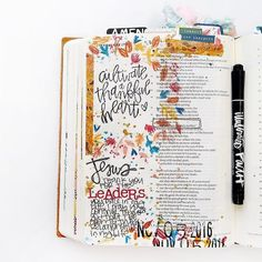As creatives we connect to HIS WORD in a different way and that is AMAZINGLY BEAUTIFUL! #illustratedfaith