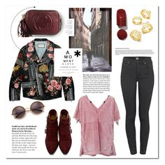 """""""Almost haunting."""" by vigilexi ❤ liked on Polyvore featuring Citizens of Humanity, Bottega Veneta, Gucci, Tom Ford, Toga, Ryder and BaubleBar"""